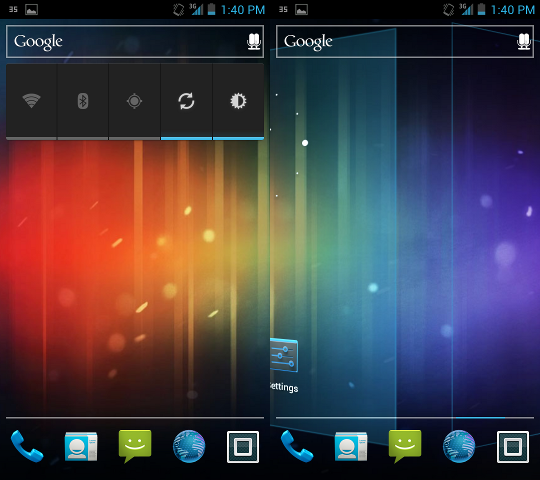 Install MotoBlur Launcher On Ice Cream Sandwich (4.0+)