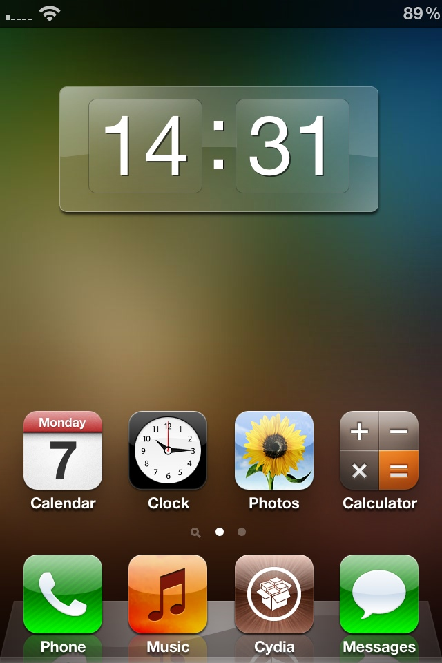 Clock Widget Cydia Tweak For Dashboard X On Iphone Ipad