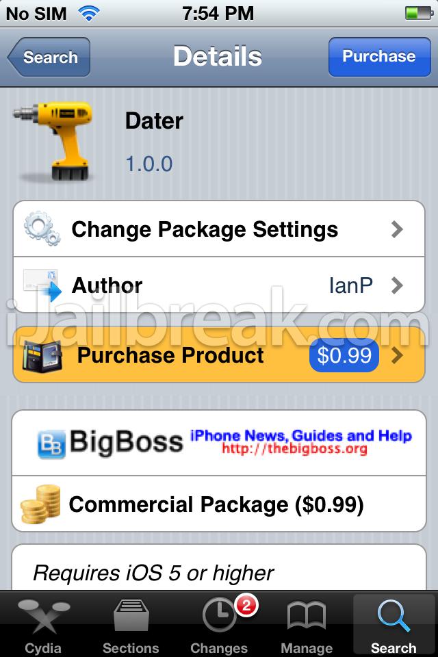 Time Warner Cable App Jailbreak Fix: Dater Cydia Tweak: Date And Time Stamp Photos On iPhone iPad iPod rh:ijailbreak.com,Design