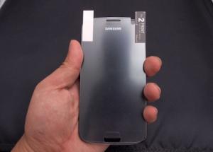 Leaked Samsung Galaxy S III Screen Protector