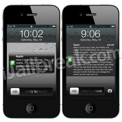 Reveal Cydia Tweak