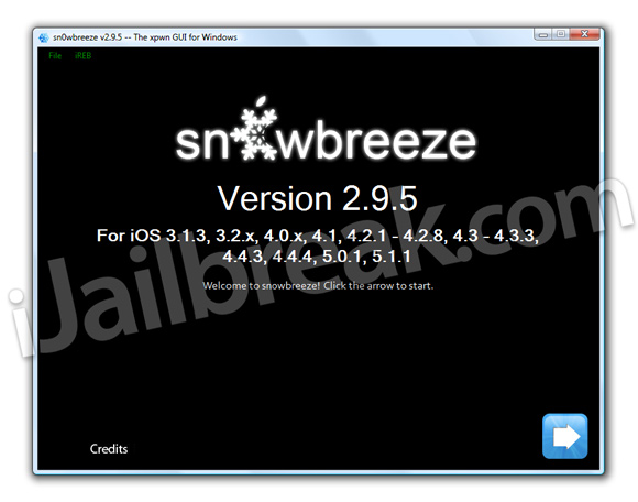 Sn0wbreeze v2.9.5