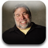 Apple Co-Founder Steve Wozniak's Backpack Contains 15 Screens, 50 Lbs Of Gadgets
