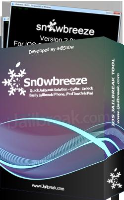 sn0wbreeze jailbreaking software 3