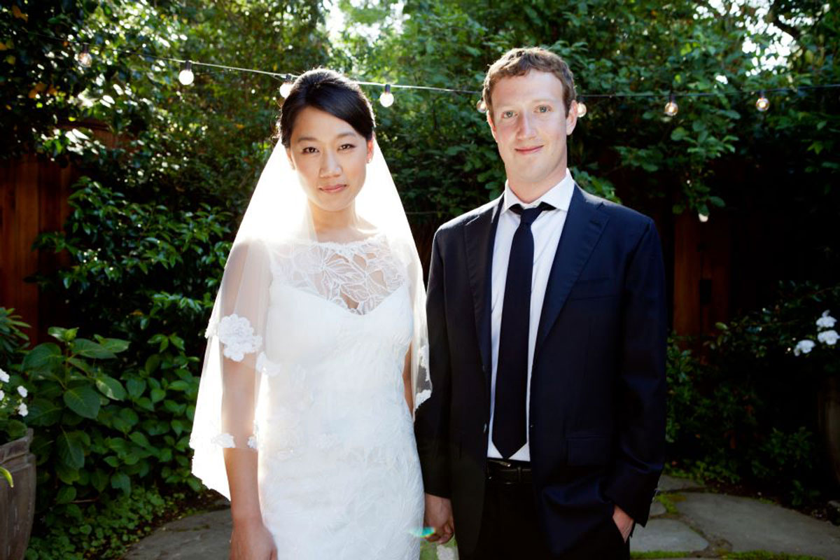 Facebook CEO Mark Zuckerberg Married to Priscilla Chan