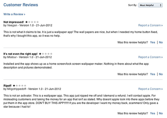 Activator App Store App Reviews