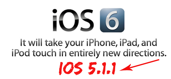 Downgrade iOS 6 beta 1 to iOS 5.1.1