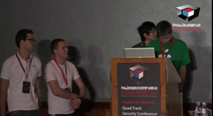Corona Untethered Jailbreak Explained By The Dream Team At HITB 2012