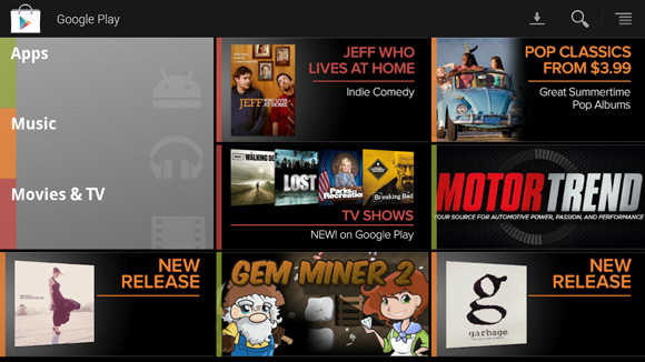 Google TV Google Play Store