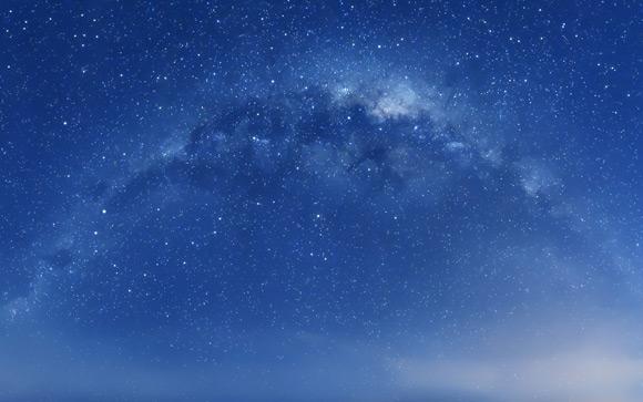 Milky Way Mountain Lion Wallpaper