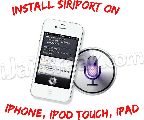 SiriPort iOS 5.1.1