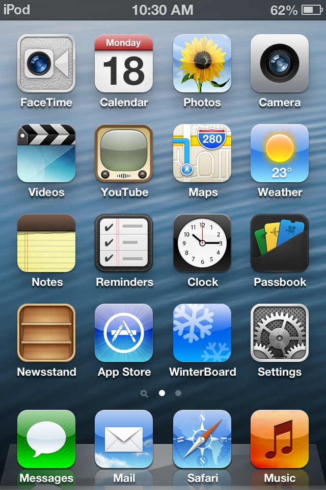 iOS 6 Theme Cydia Package