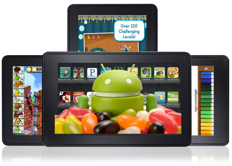 Android 4.1 Jelly Bean Kindle Fire