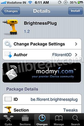 BrightnessPlug ModMyi Free