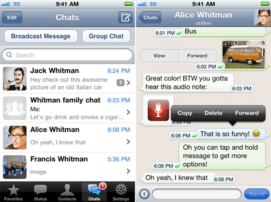 Download WhatsApp Messenger Free iOS