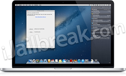 How To Jailbreak On OS X 10.8 Mountain Lion