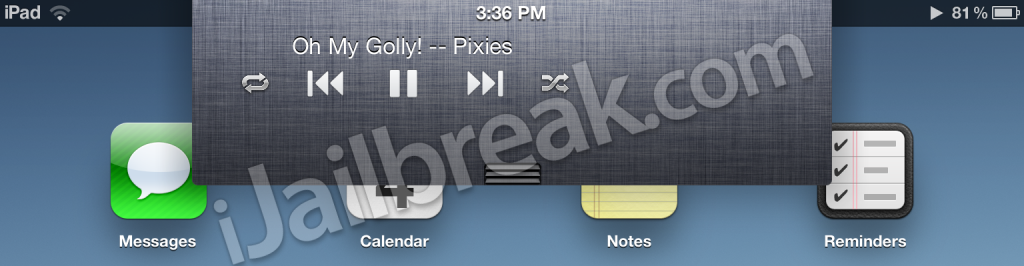 Quick Player For Notification Center BigBoss Free