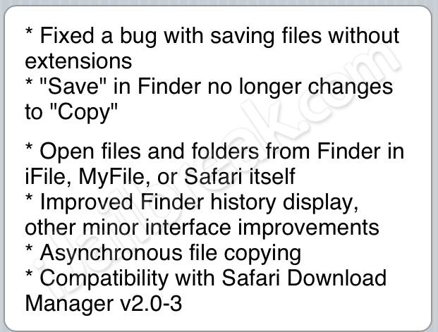 Safari Download Enabler 1 4-3 For iOS Almost Replaces iFile