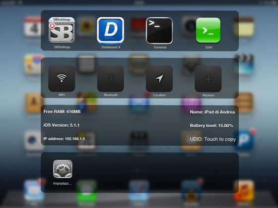 Speero Cydia Tweak