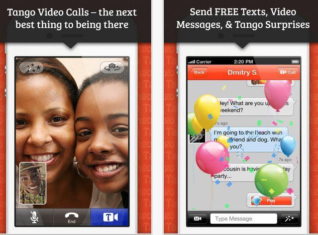 Tango Video Calls App Update Brings Free Text Messages, New Specials