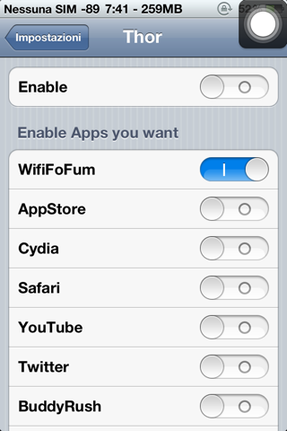 Thor Cydia Tweak