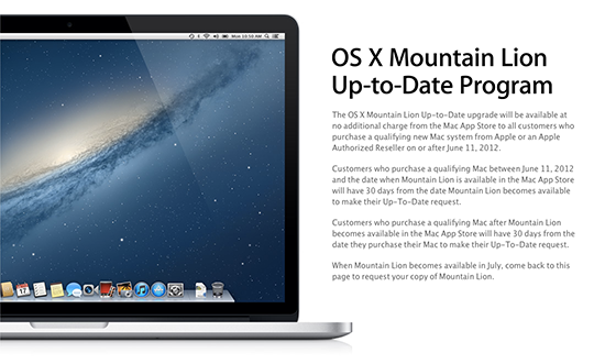 how long does it take to get your OS X 10.8 Mountain Lion redemption code?