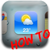 How To: Add A Live Weather Icon To Your SpringBoard With MinimalWeather Hack [No Jailbreak Required]