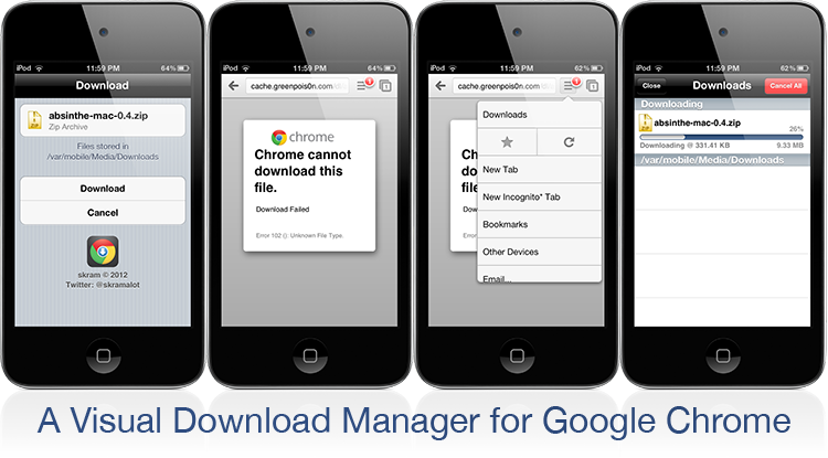 Chrome Download Manager ModMyi $3.00