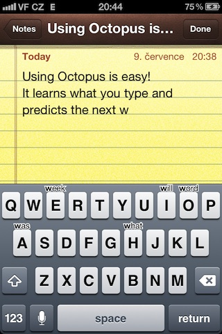 Octopus Keyboard Cydia Tweak BigBoss