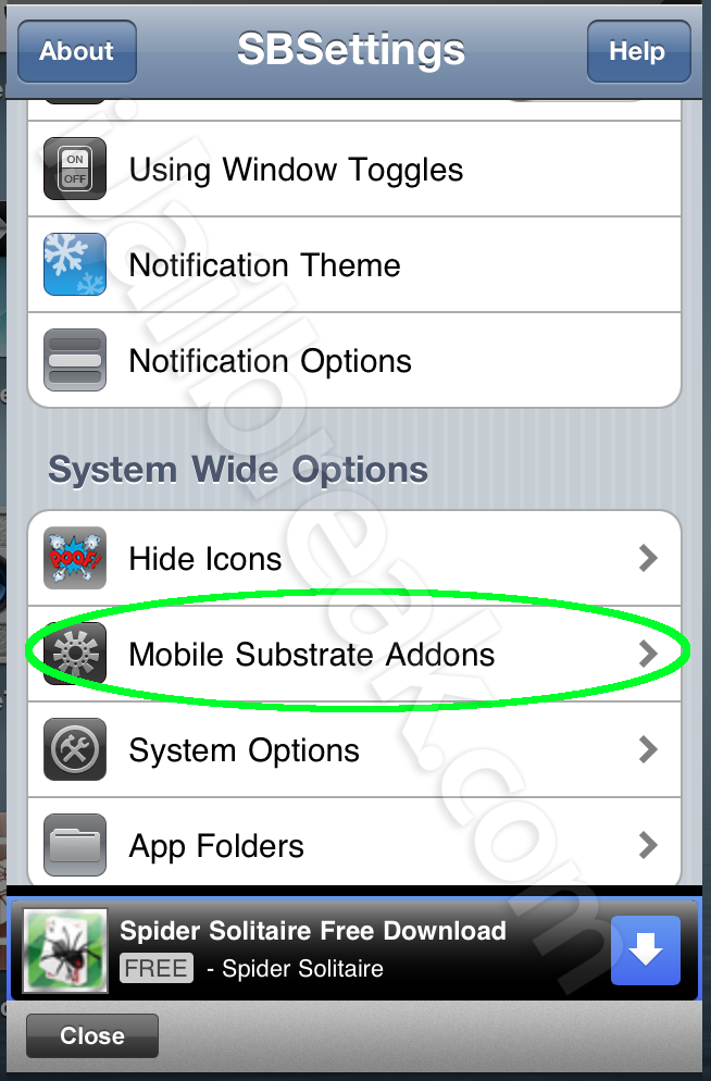 Fix And Remove Broken Cydia Tweaks Using SB-Settings