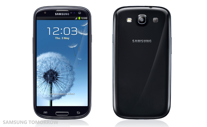 Black Samsung Galaxy S III