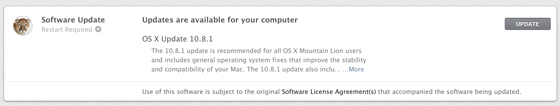 Download OS X 10.8.1 Build 12B19