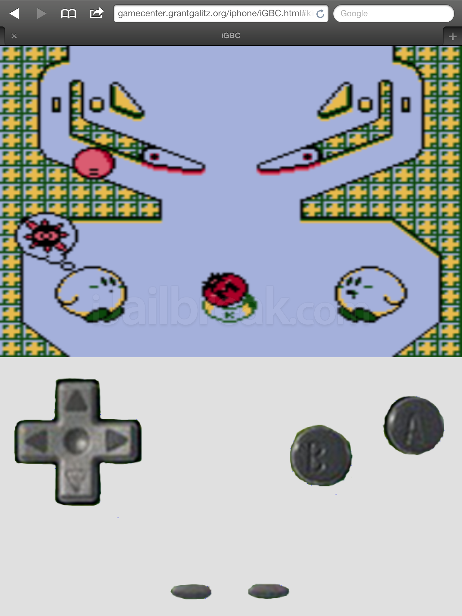 GameBoy-Online: Play Gameboy Games In Your iPhone's Browser