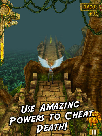 Temple Run PermaWings Power-Up