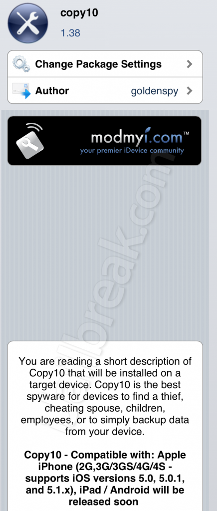 best spy cydia for iphone