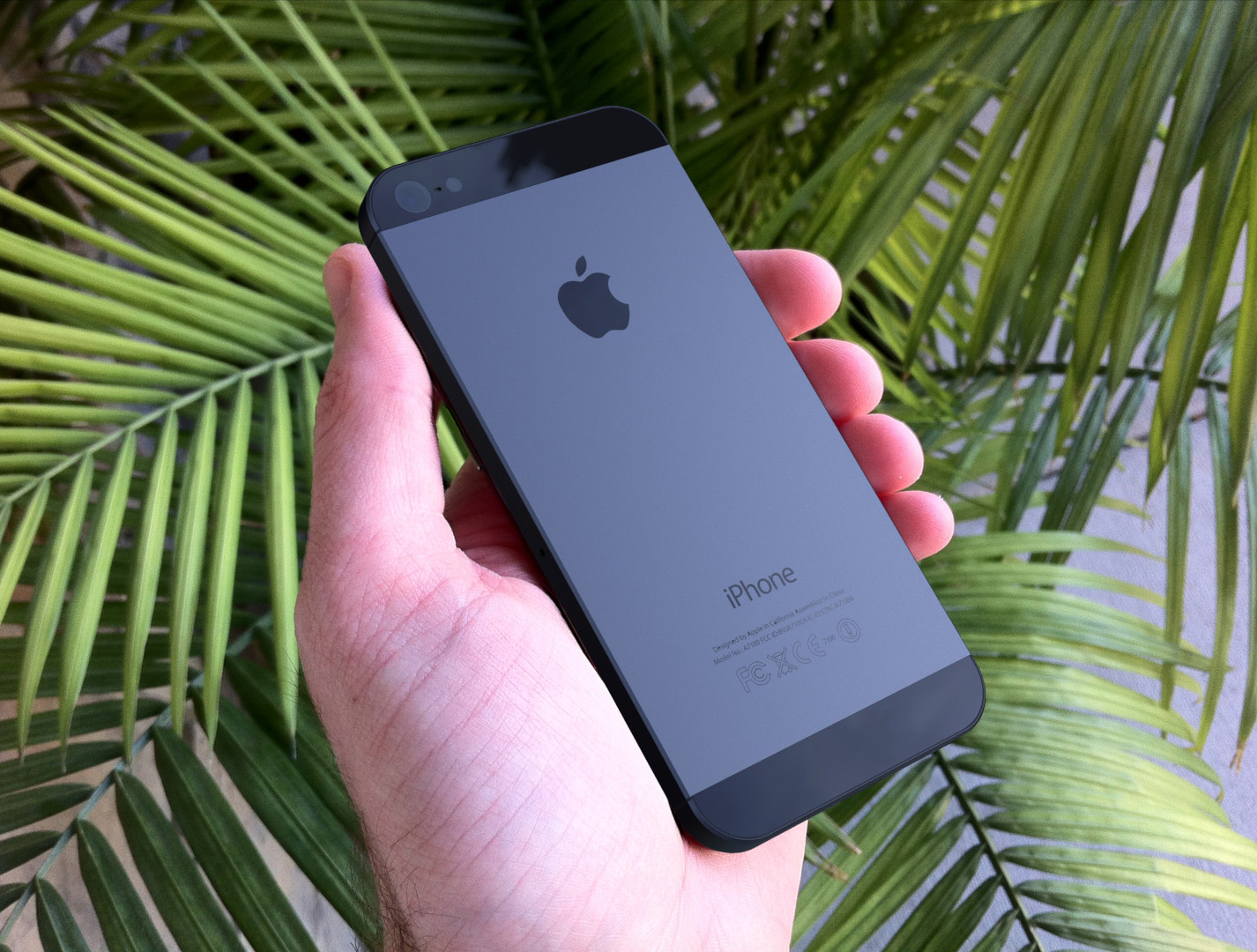 The two tone Black backplate of the iPhone looks really good and I for ...