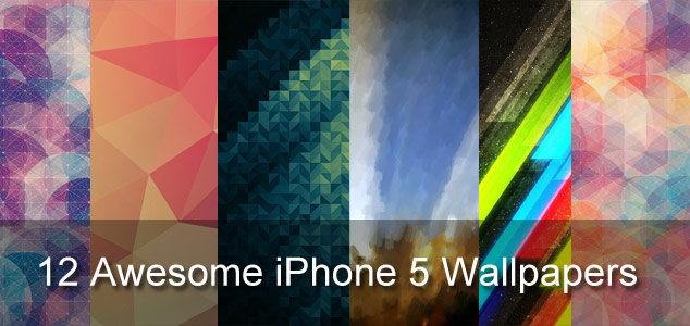 12 Awesome iPhone 5 Wallpapers