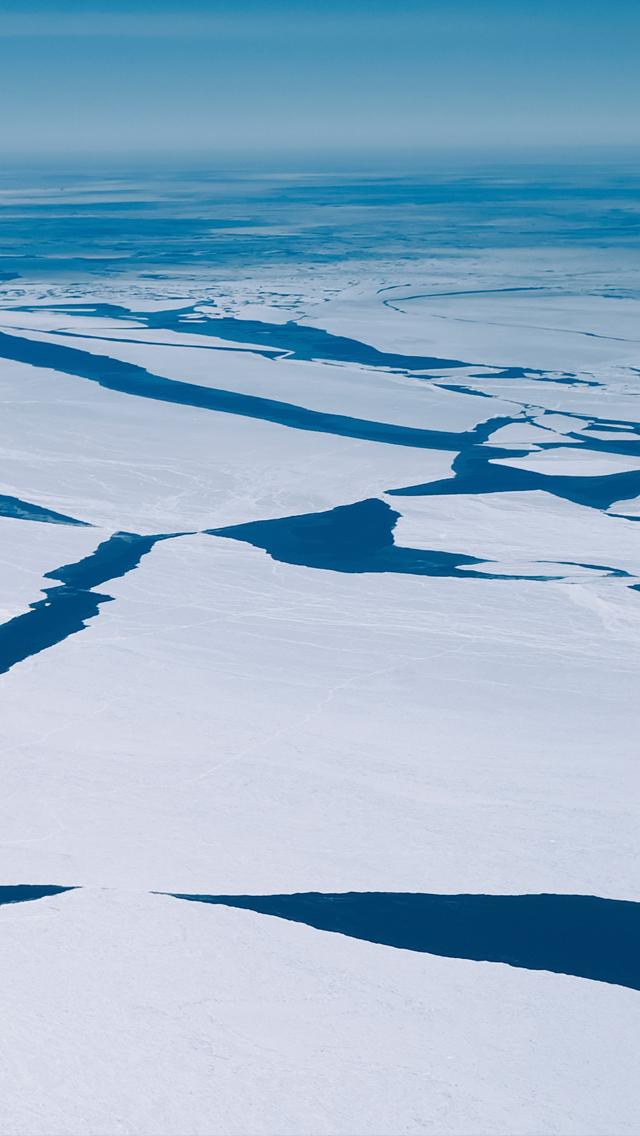 Arctic Icebergs iPhone 5 Wallpaper