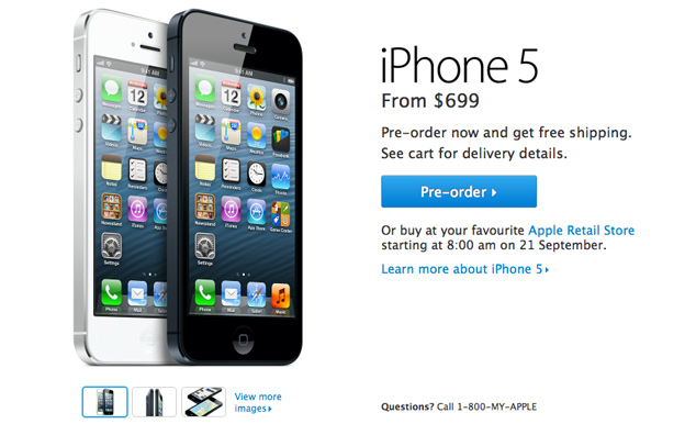 Apple Was Blown Away By iPhone 5 Demand