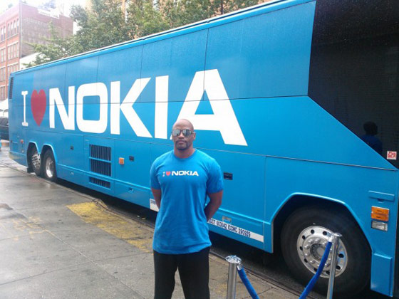 Nokia Shuttle Bus