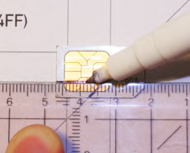 How To Transform Mini/Micro Sim Card Into Nano Sim Iphone 5