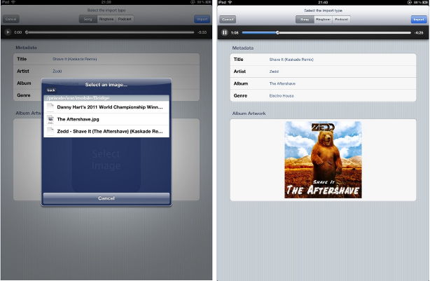 Bridge Cydia Tweak: Import Downloaded Music Into Your Library