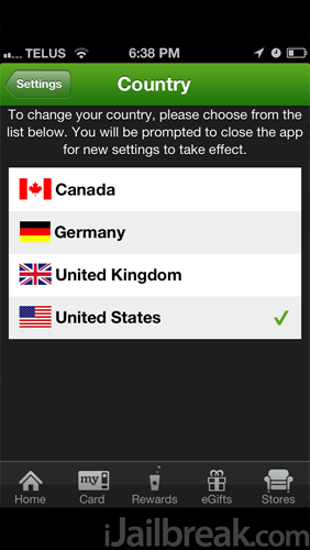 How To Make The Starbucks App's iOS 6 Passbook Functionality Work In Canada