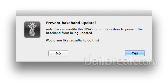 Steps on How to Update to iOS 6 While Preserving Baseband Using Redsn0w