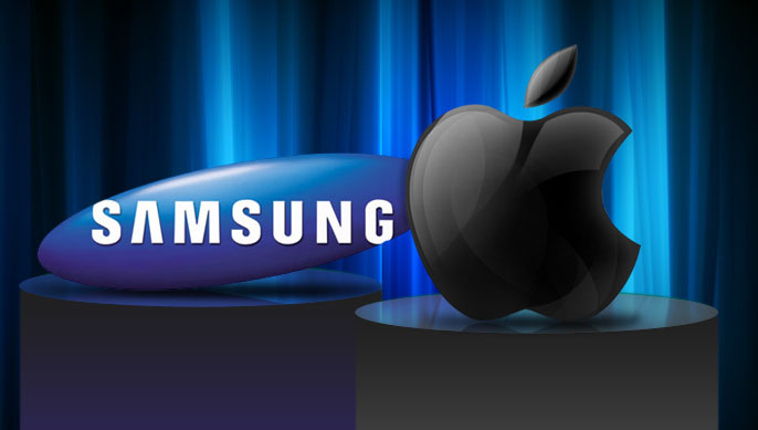 Apple Vs Samsung Logo