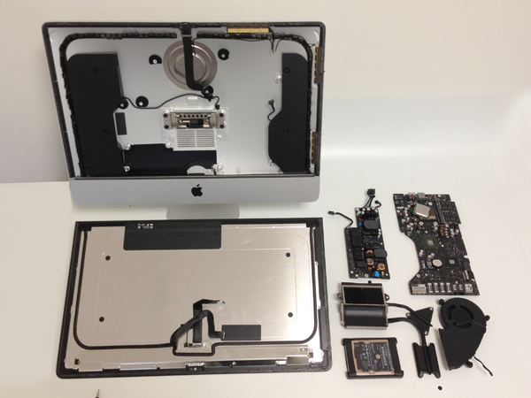 Apple 2012 iMac Teardown