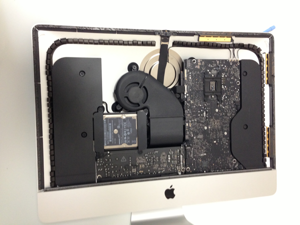 2012 The New iMac Teardown