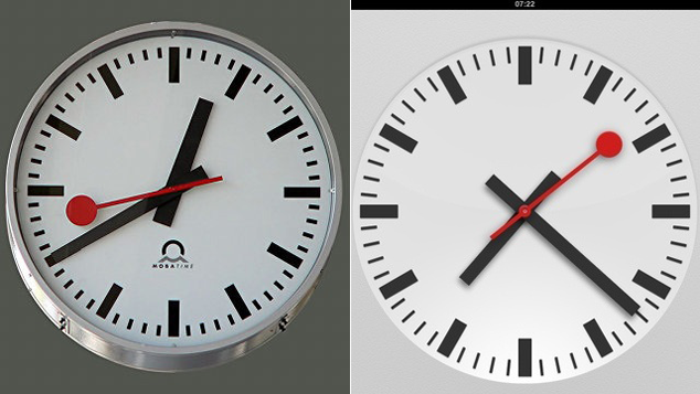 Apple Pays SBB $21 Million For iOS 6 Clock Design