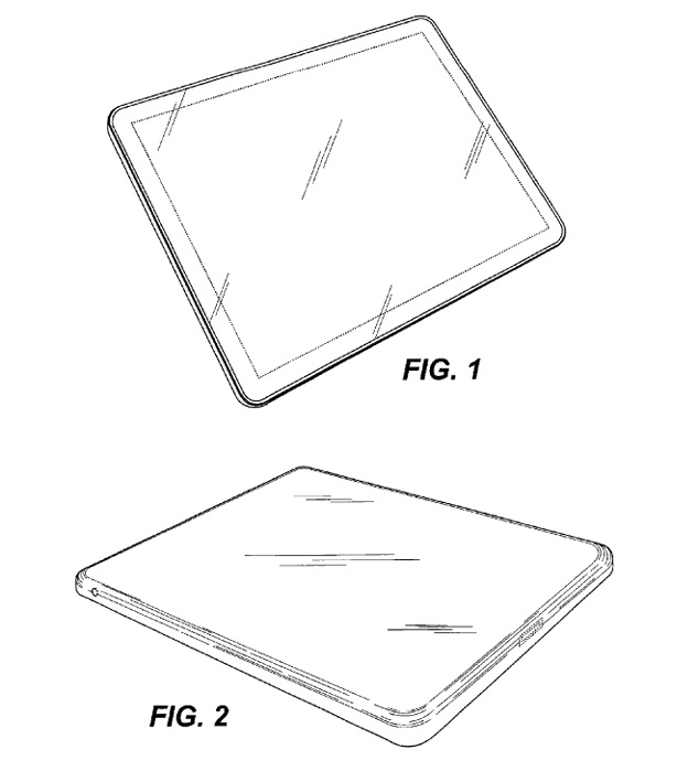 Apple Rounded Corners Tablet Patent