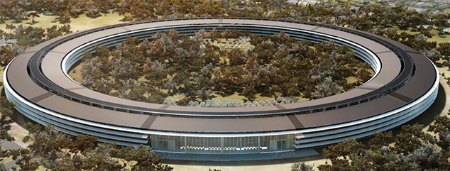 Apple Spaceship Campus Delayed